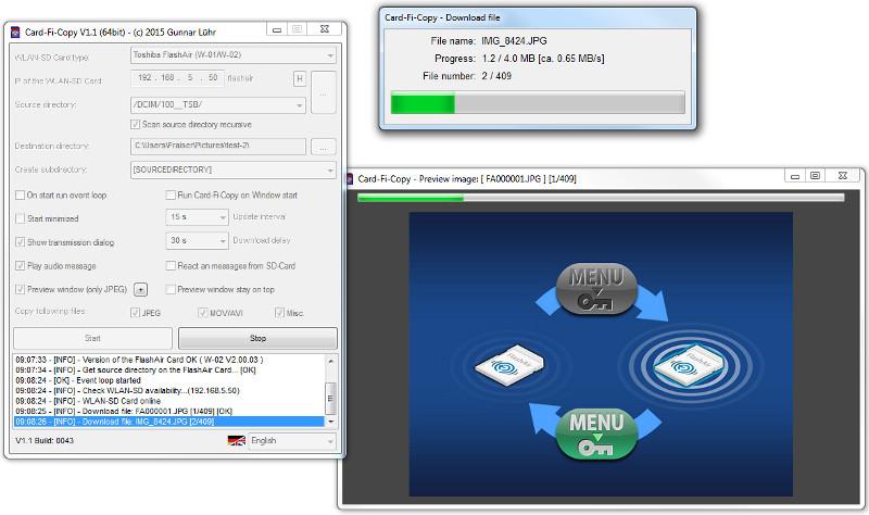 Card-Fi-Copy V1 1 for Windows